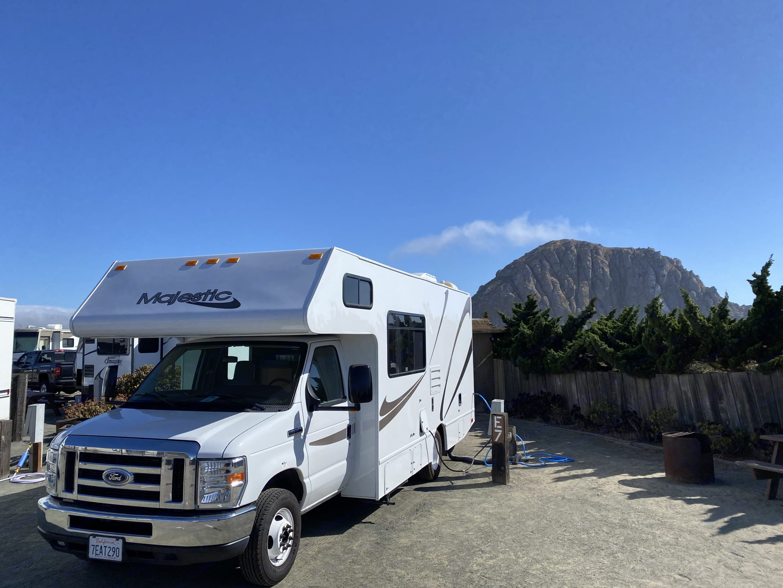 "Morro Bay, CA ""Summer 2020"". Thor Motor Coach Four Winds Majestic 2015"