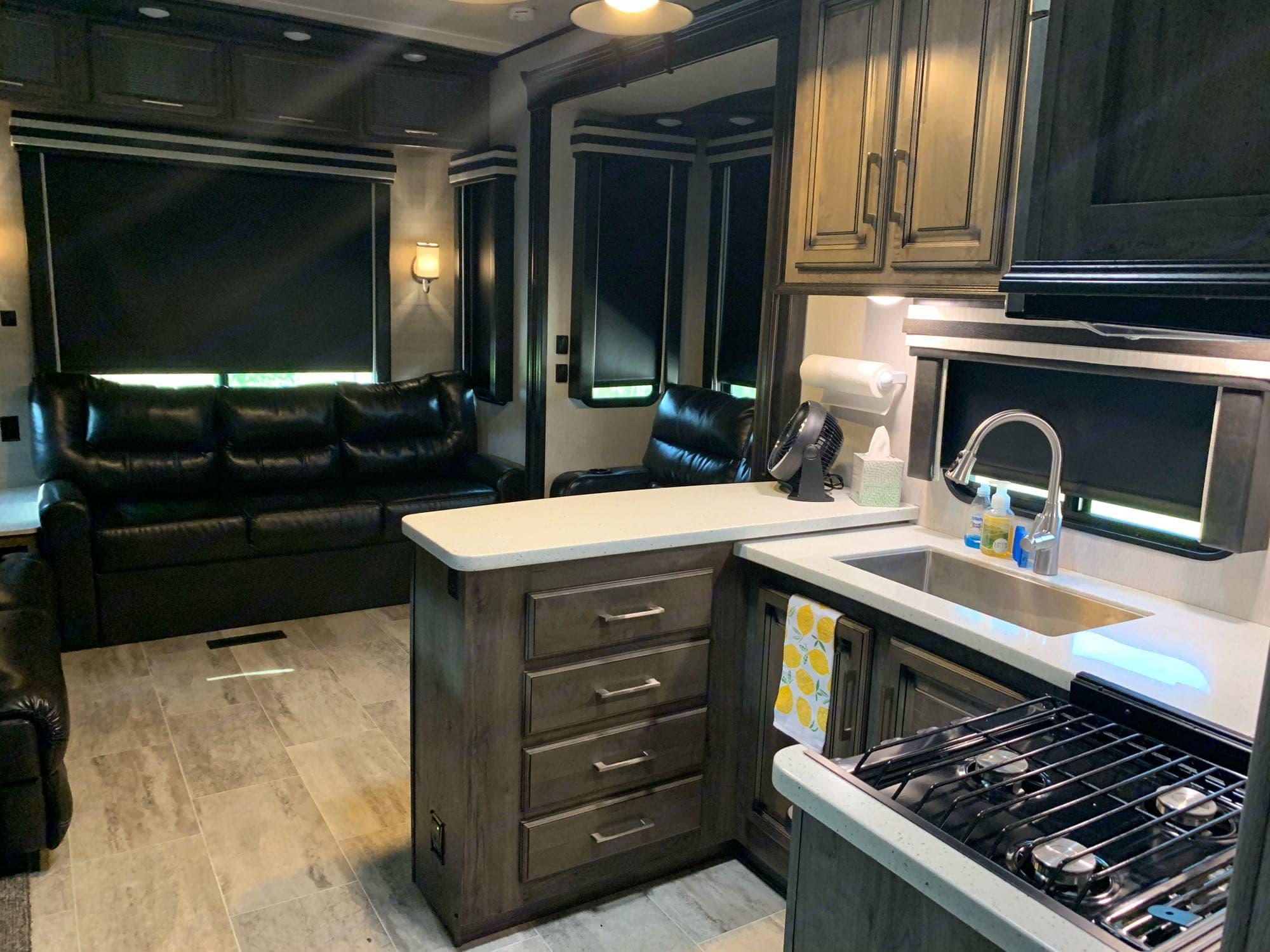 kitchen/living. Heartland Gateway 2017