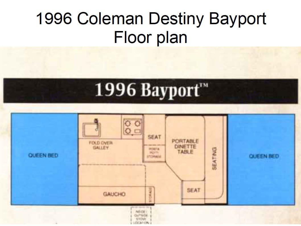 Coleman Destiny Bayport 1996