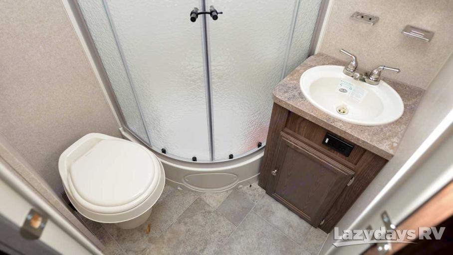 Bathroom. Forest River Flagstaff Micro Lite 2016