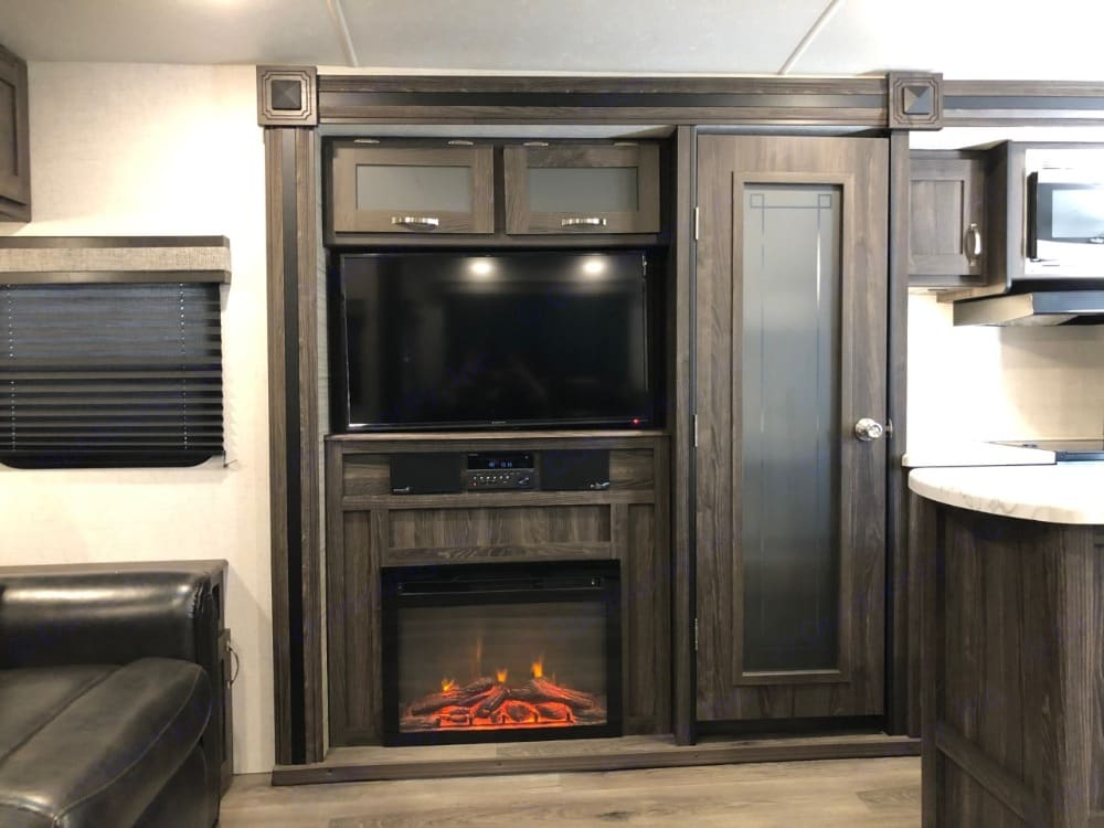 """Spacious pantry, fireplace, and 42"""" television.. Other Other 2019"""