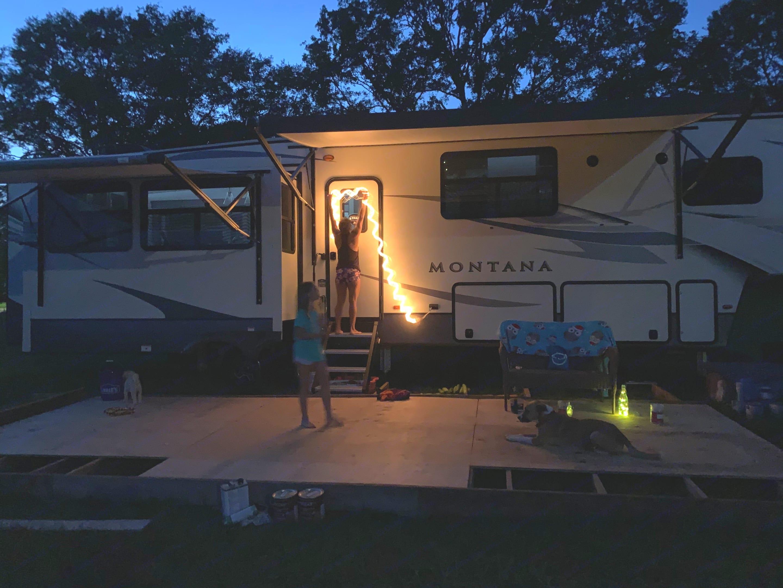 Outdoor camping!. Keystone Montana 2020