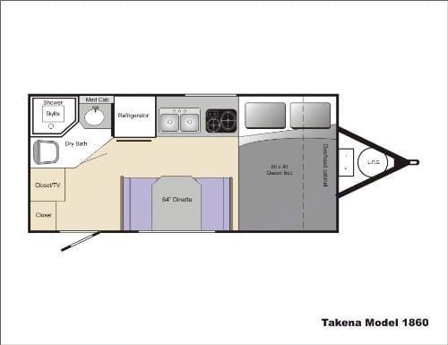 The floor plan.. Chalet Rv Takena 1860 2008