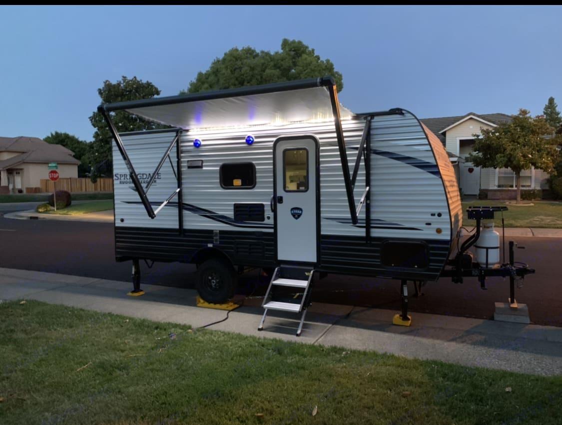 Front of trailer. Keystone Springdale 2020