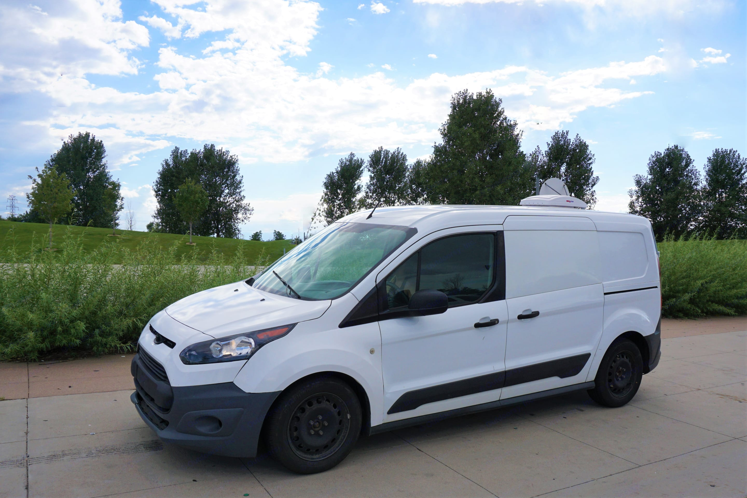 Easy to drive and great gas mileage - Ford Transit Connect. Ford Van 2015