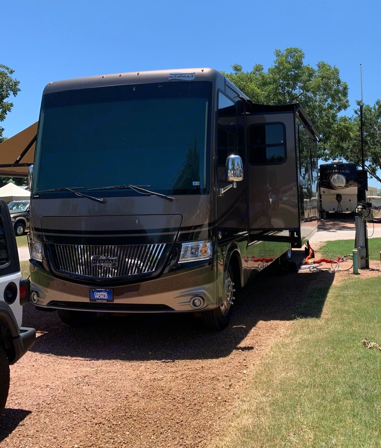 Front view. Newmar Canyon Star 2018
