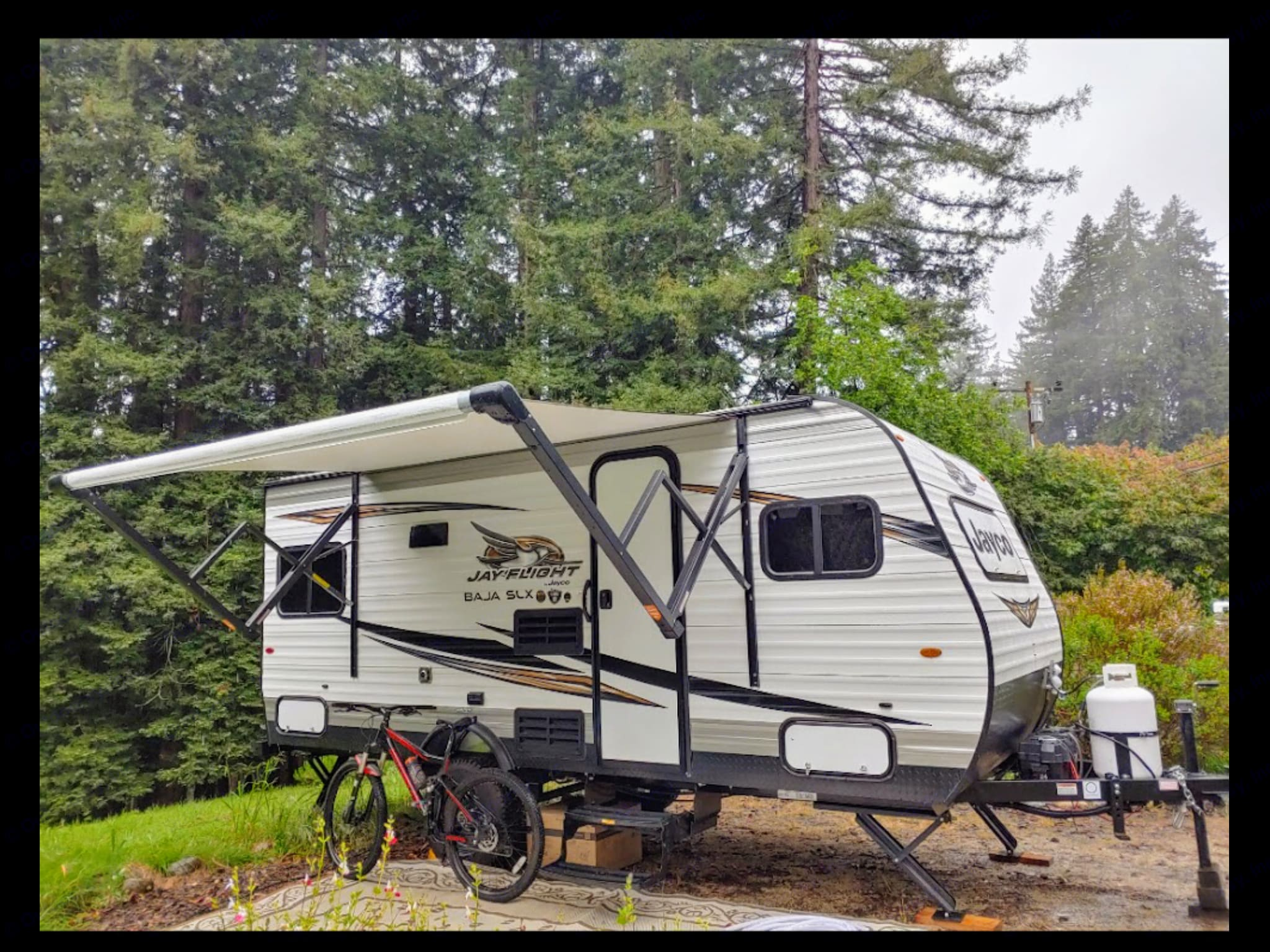 Camp in some of the smallest best sites yet still have all your amenities.. Jayco Baja 175RD 2018