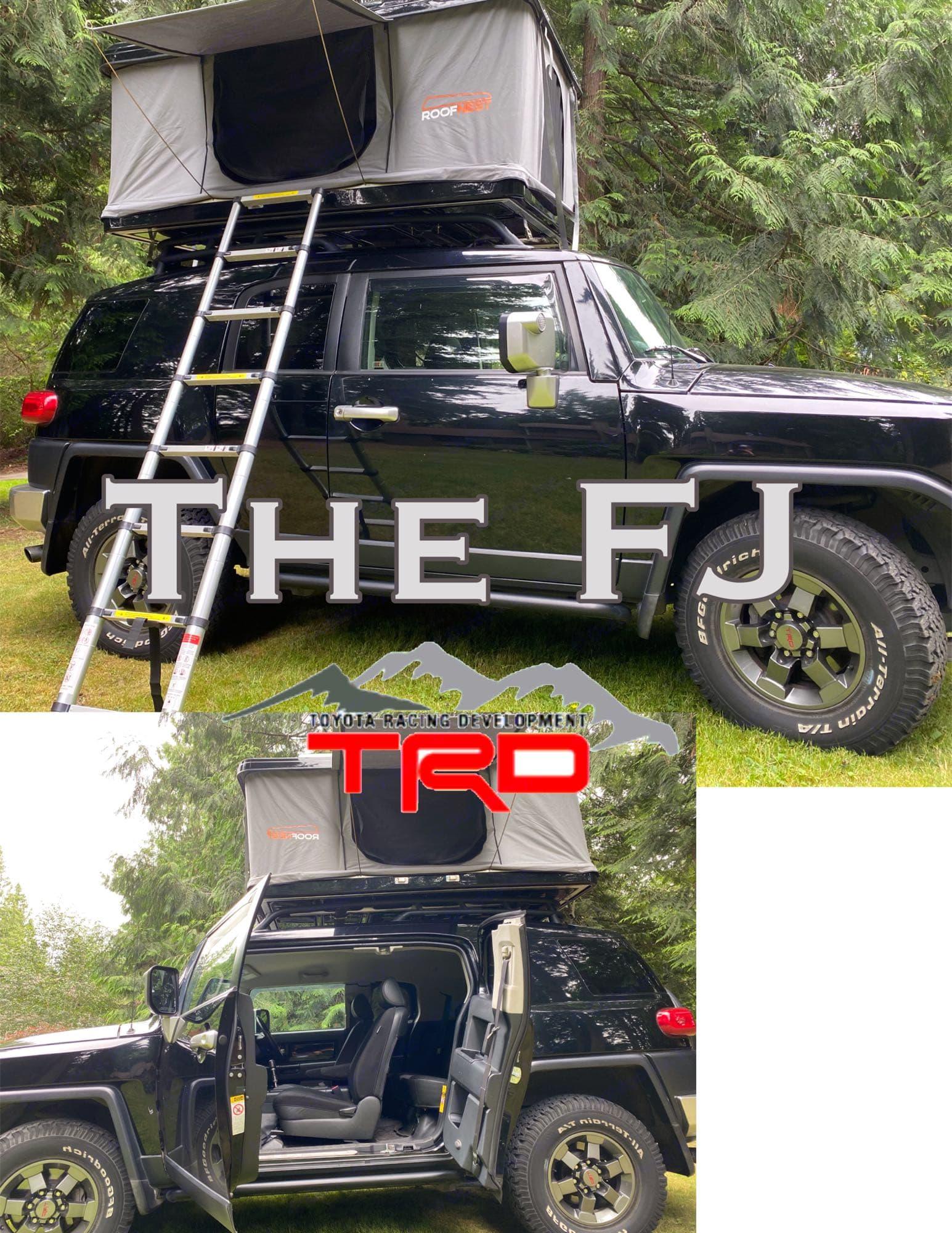 2007 FJ Cruiser TRD Off Road. Toyota Landcruiser 2007