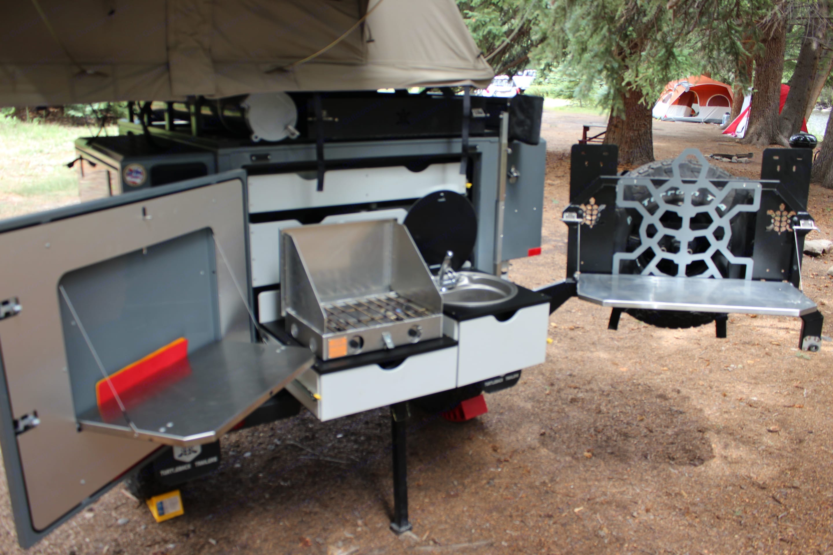 Turtleback Trailers Expedition Offgrid 2019