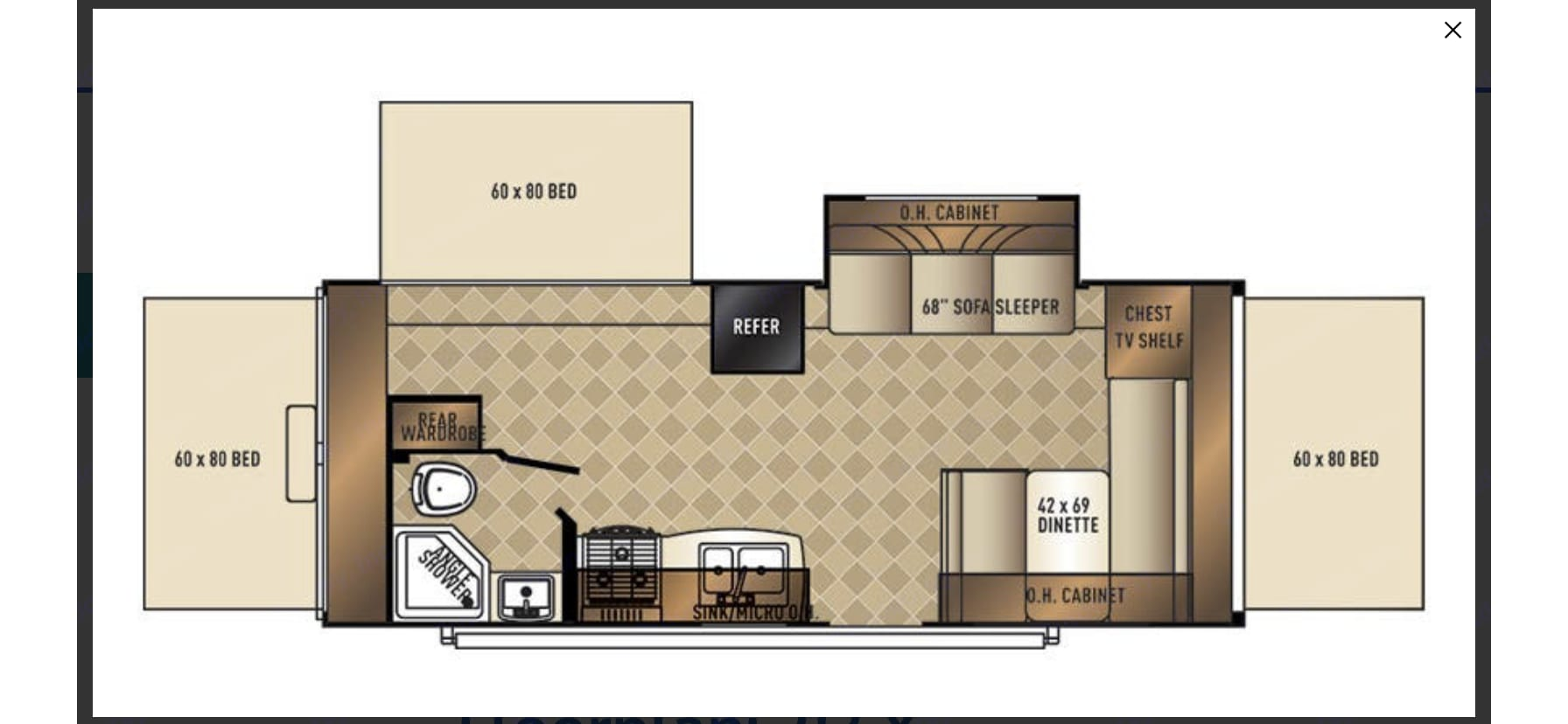 Floor Plan and Everything you need!. Palomino Solaire Expandable 2017