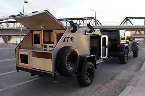 The Bugout Buggy In Action!. Vintage Trailers XTR 2018