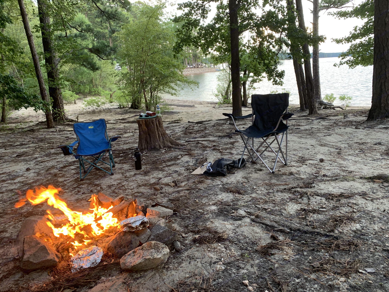 Kerr Lake Kimball Pointe Site 59 Lake View. Thor Motor Coach Freedom Elite 2016