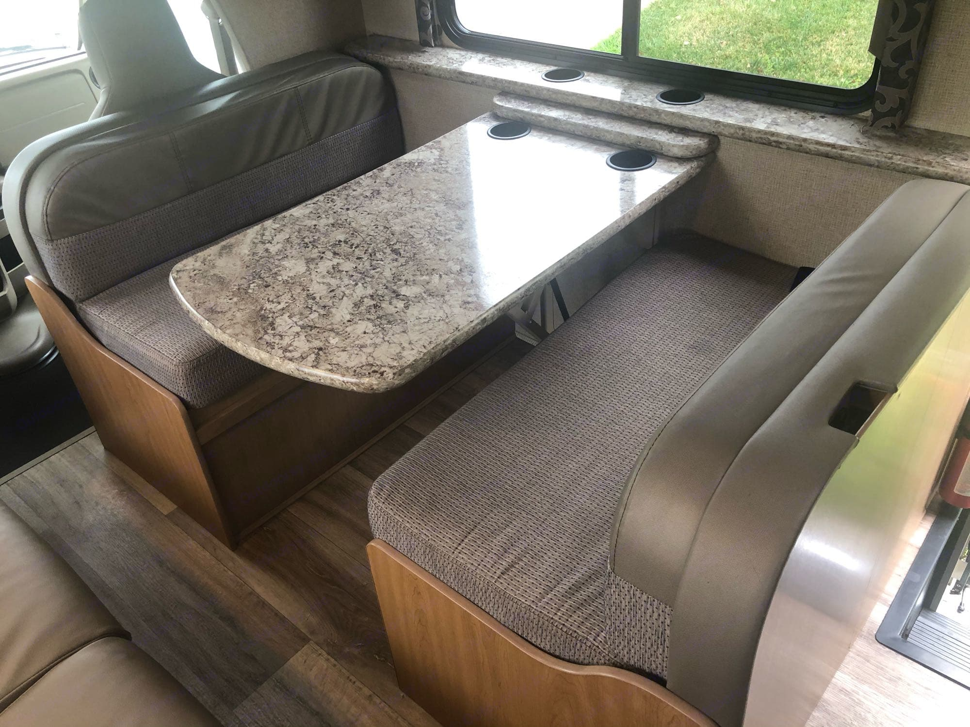 Dining Table. Thor Motor Coach Four Winds 2019