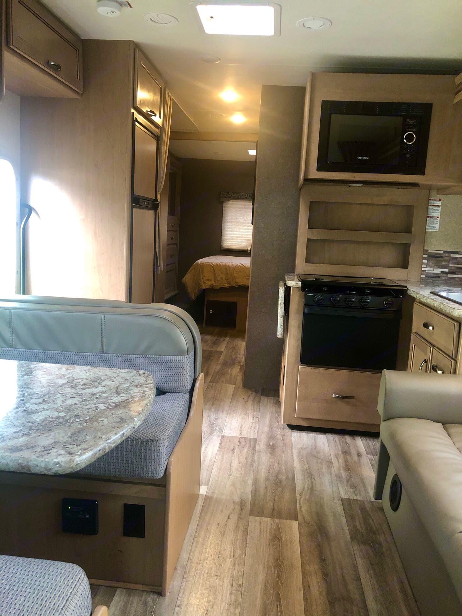 Living Area. Thor Motor Coach Four Winds 2019
