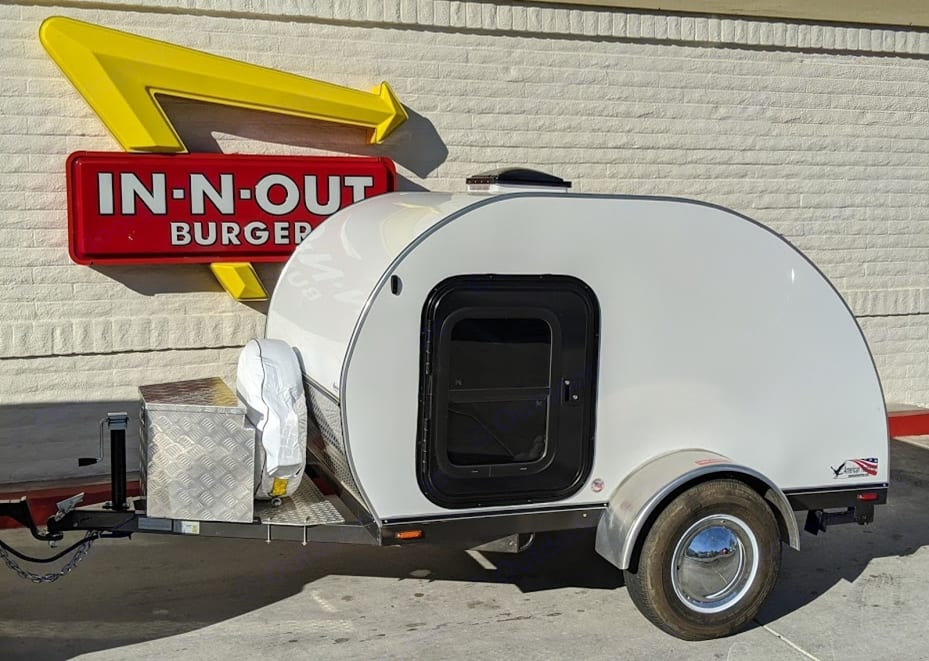 One classic deserves another.. American Teardrop Travel Trailer 2017