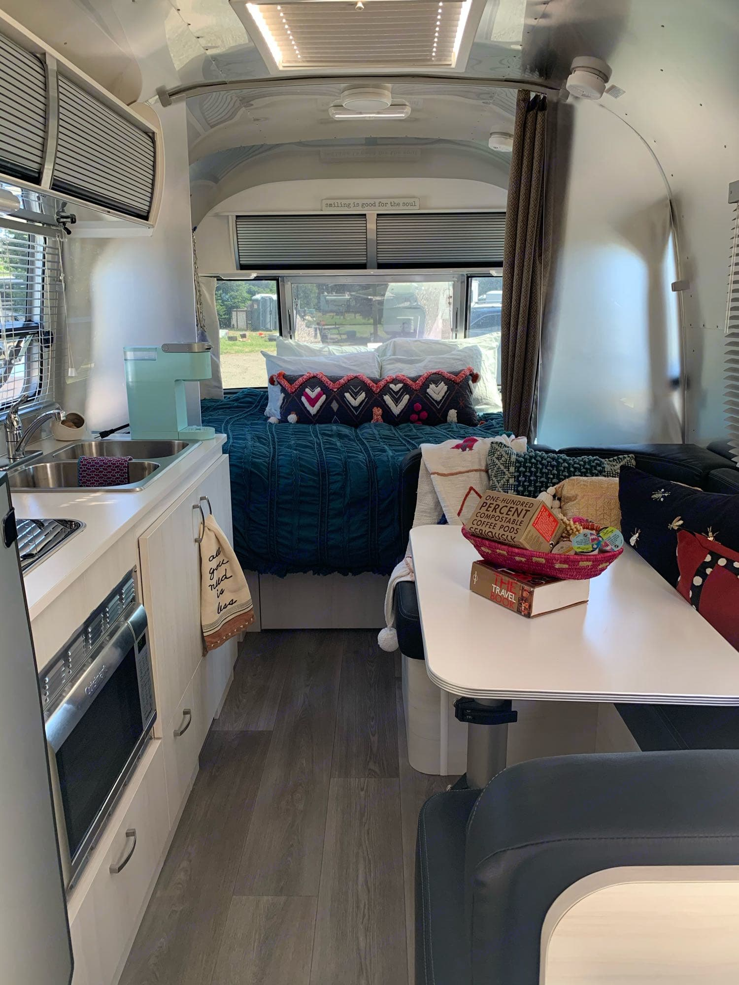 Inside you'll feel right at home :). Airstream Sport 2019