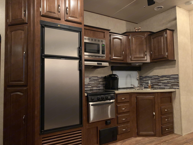 Kitchen. Forest River Salem Hemisphere 2015