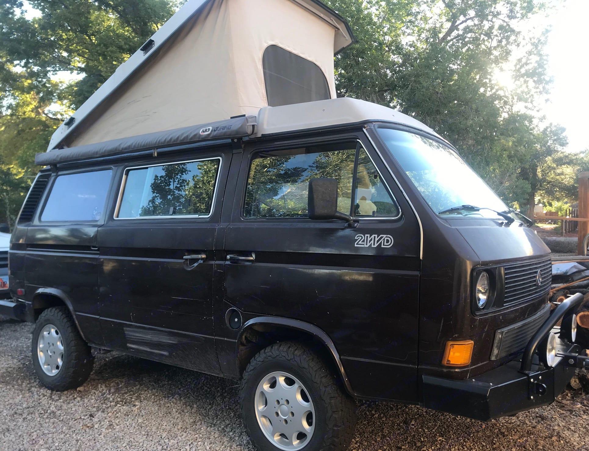 Side View. Volkswagen Westfalia 1986