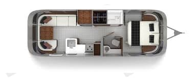 To scale. Airstream Globetrotter 2020