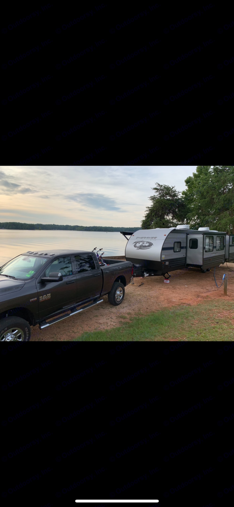 Towing. Forest River Cherokee 2020