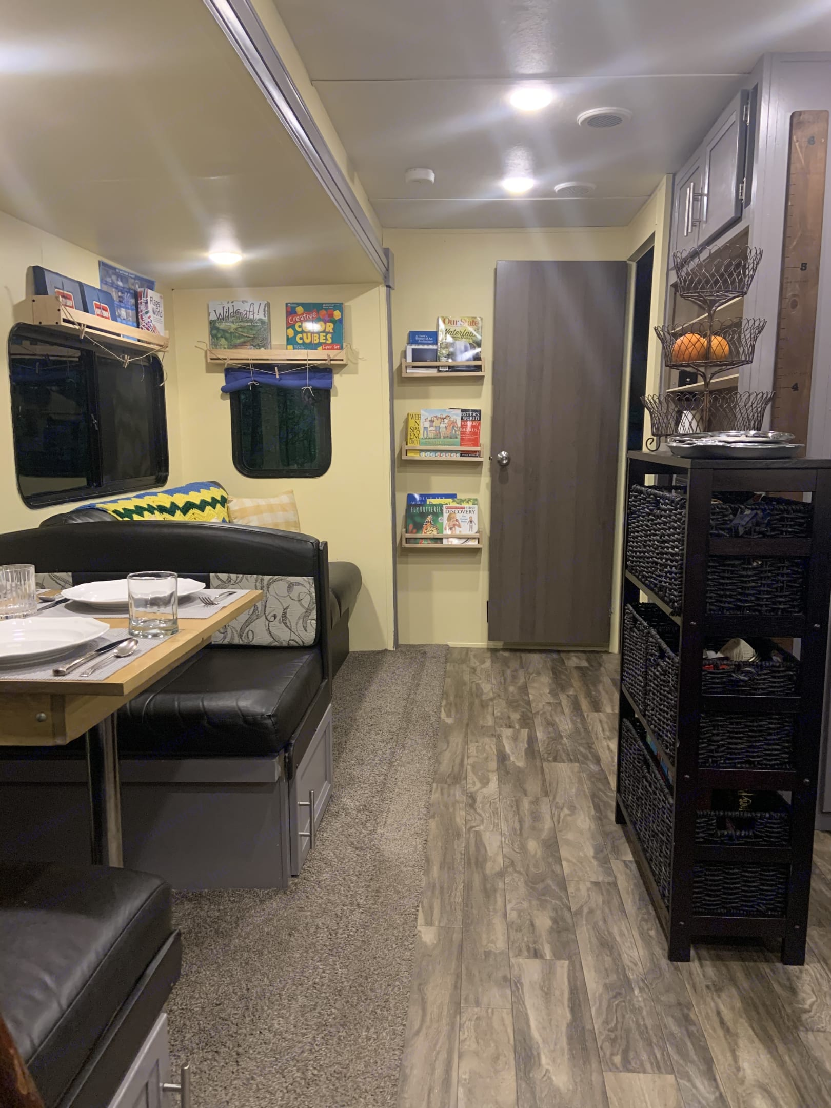 The main cabin can be kid-friendly, or stocked for a relaxing personal retreat.. Coachmen Catalina 2019