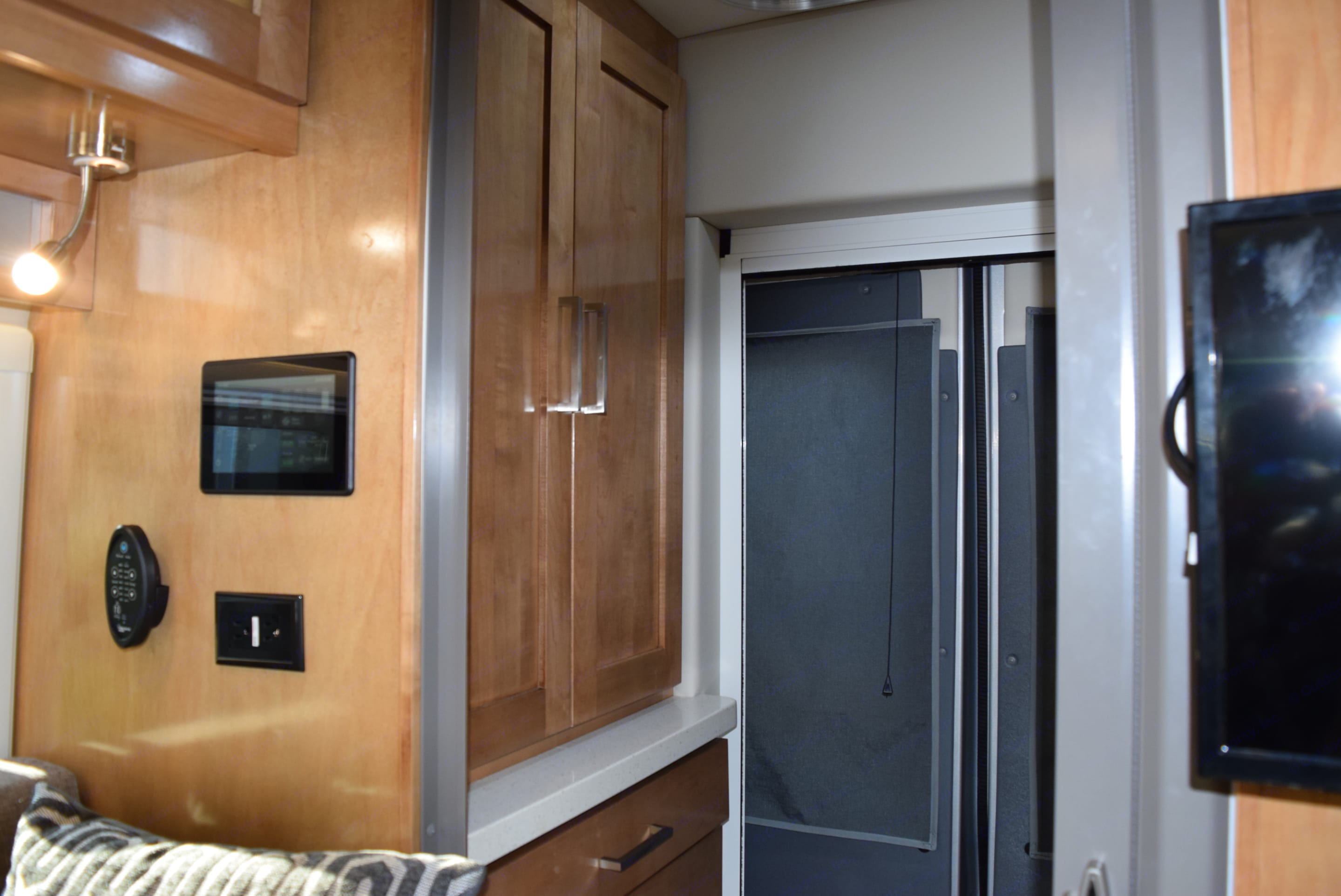 Closet and drawers for your stuff.  Plus lots of overhead storage spaces.. Coachmen Beyond 2020