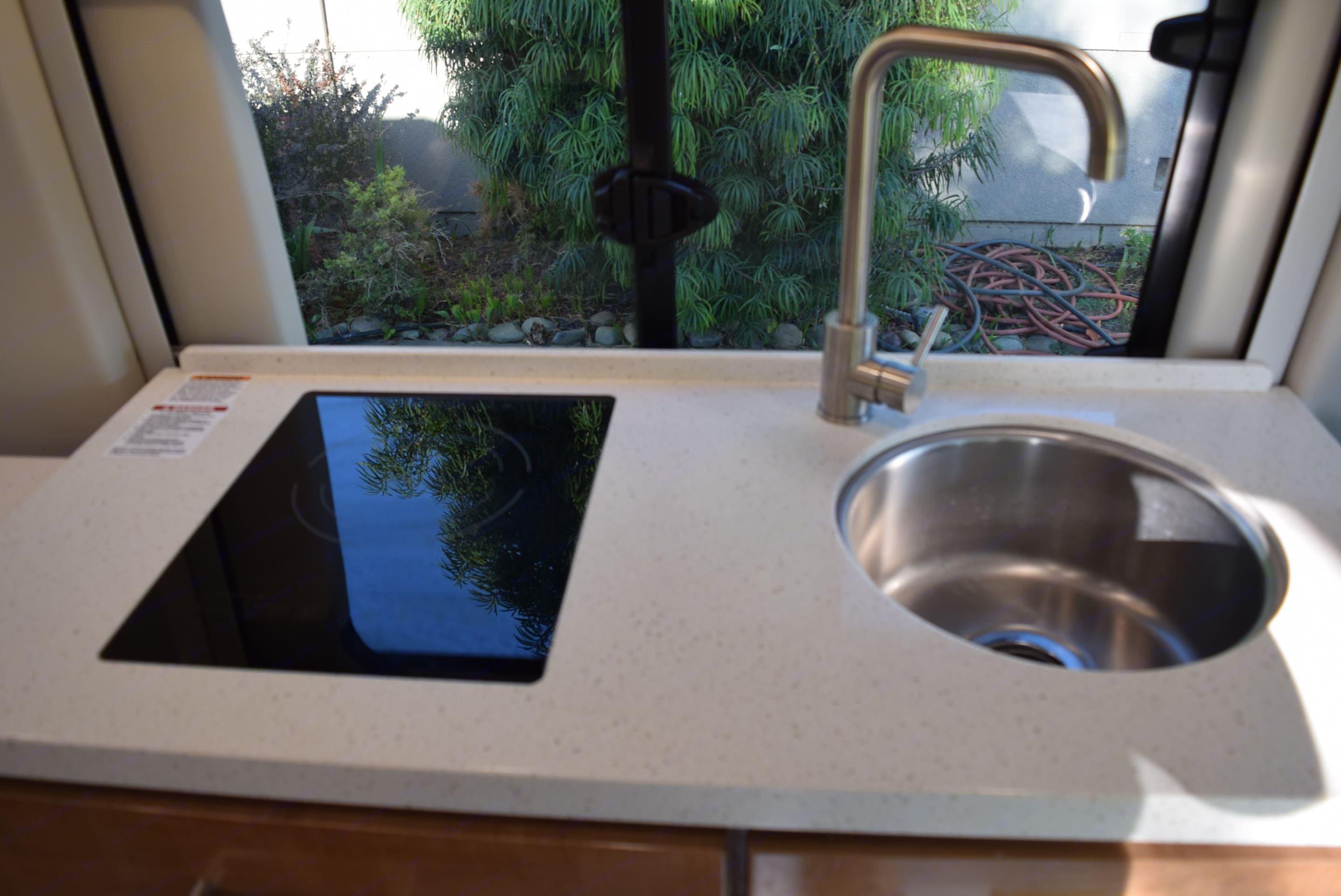 Induction cook top and large sink.. Coachmen Beyond 2020