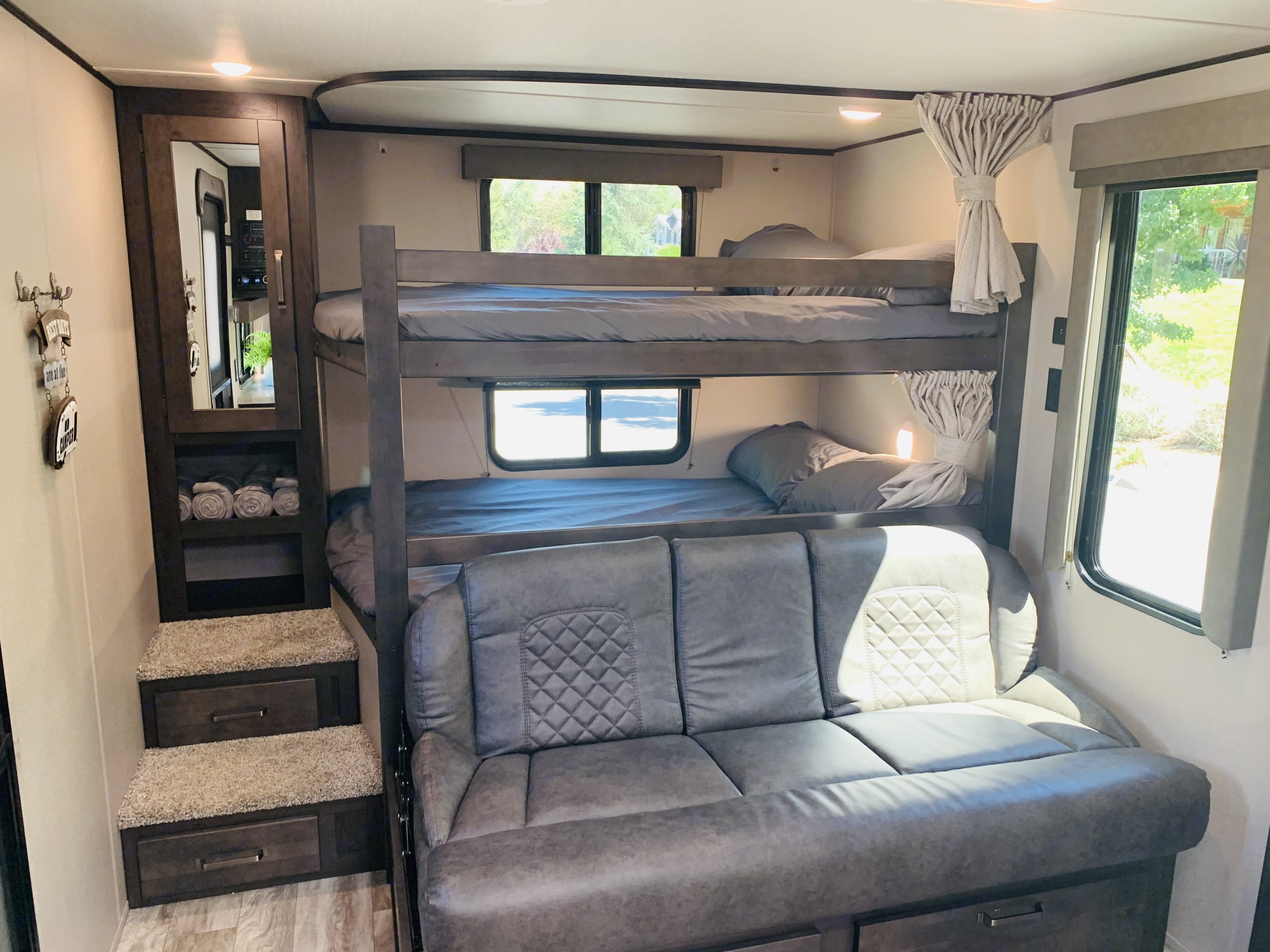 Double bunks with Jackknife sofa bed. Grand Design Other 2021
