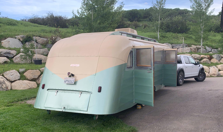 Custom Camper Trailer 1949
