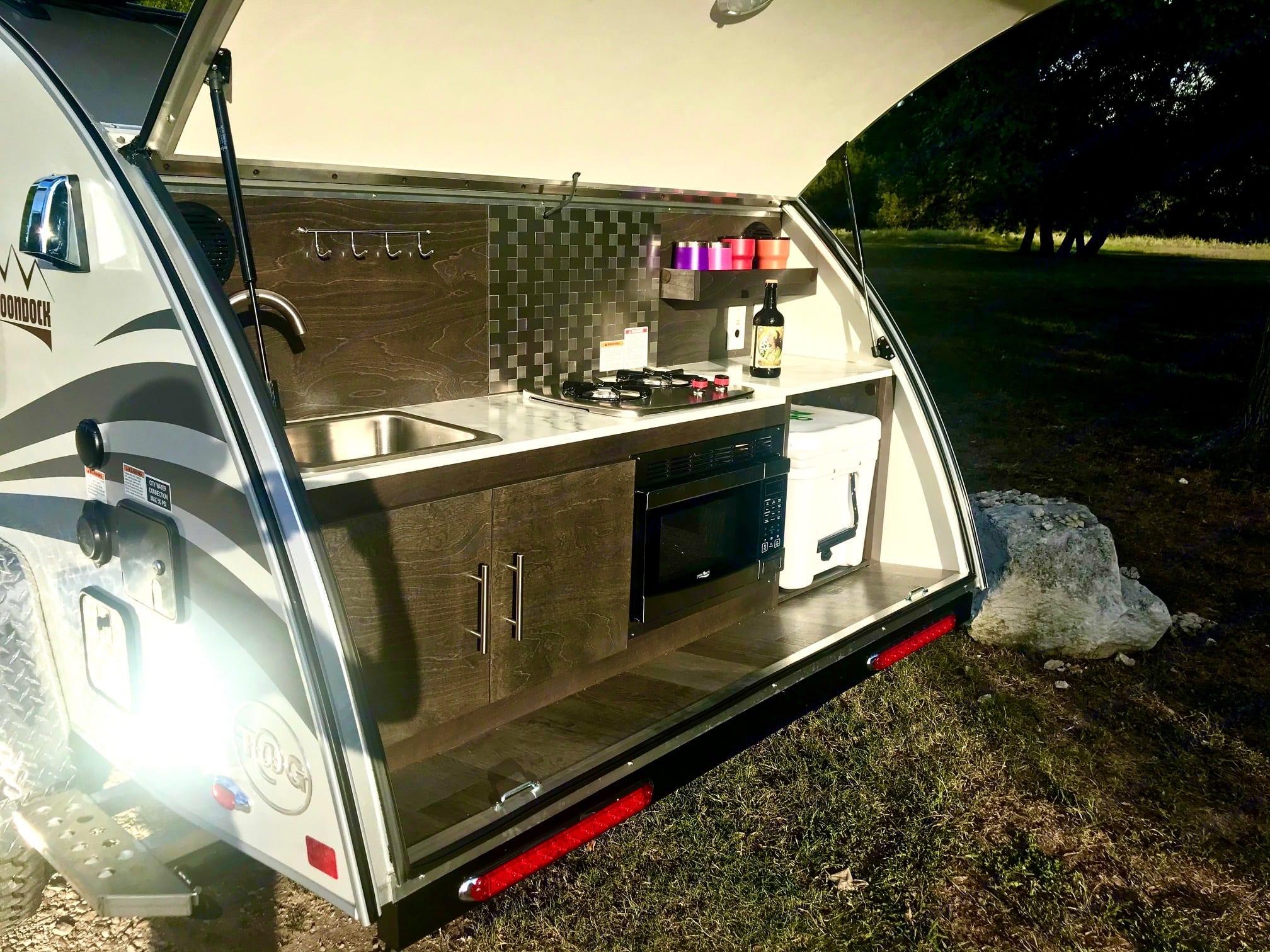 Full kitchen.. Nucamp T@G XL Boondock 2021