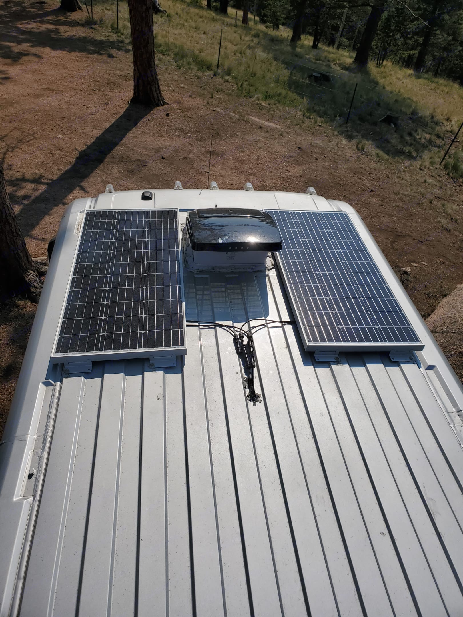 solar panels and airmax fan. Dodge Other 2014