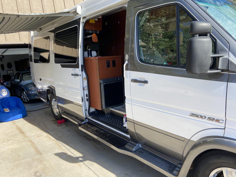 easy slide door & wheel chair accessible. Dodge Sprinter Van 2005