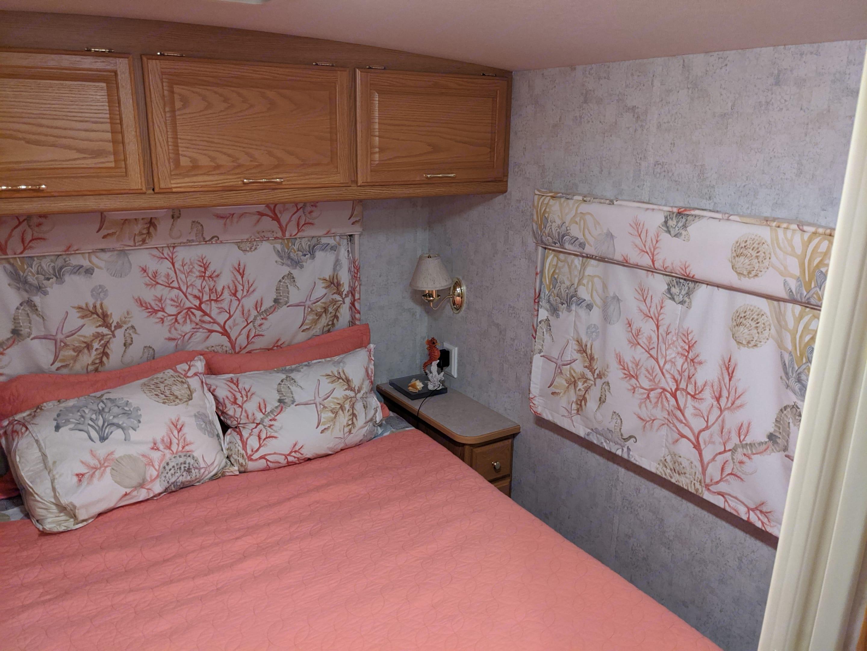 Bedroom area. Winnebago Chalet 2006
