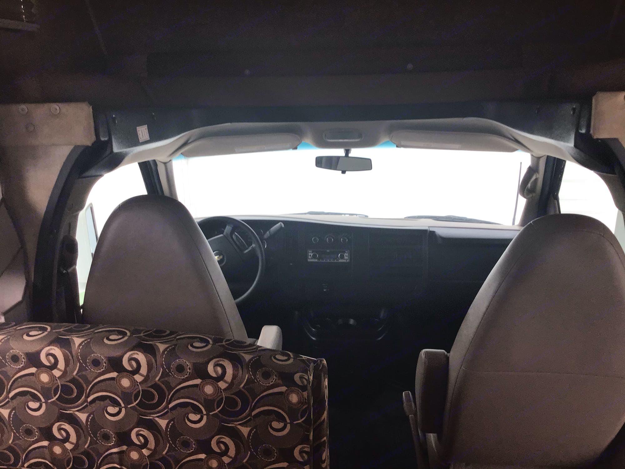 Front Cab. Coachmen Freelander 2014