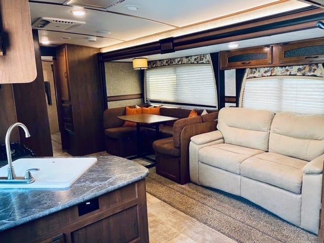 Beautiful and Spacious interior!. Jayco White Hawk 2016