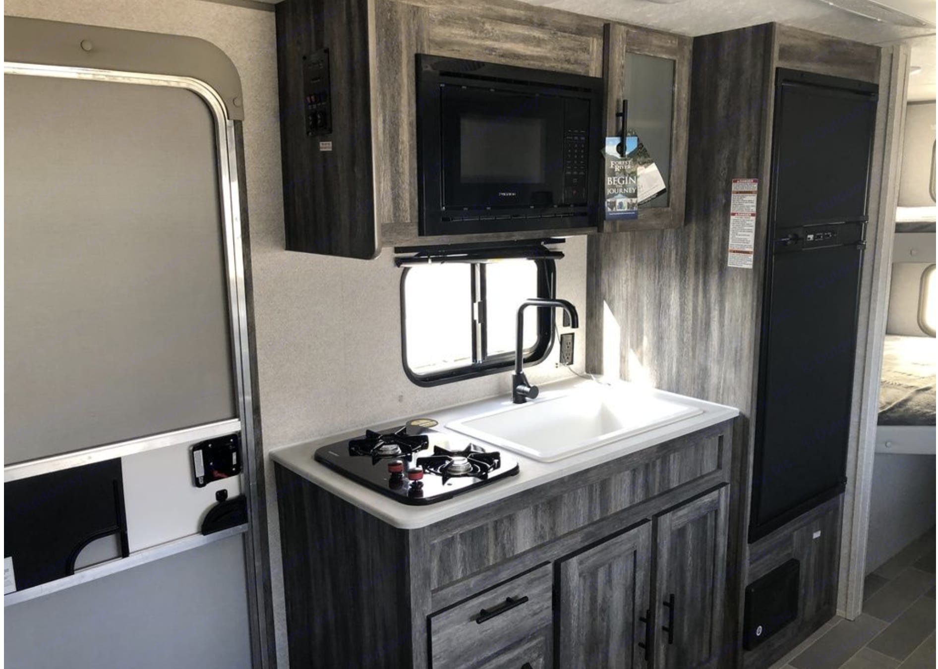 Kitchen Area. Forest River Salem 2021