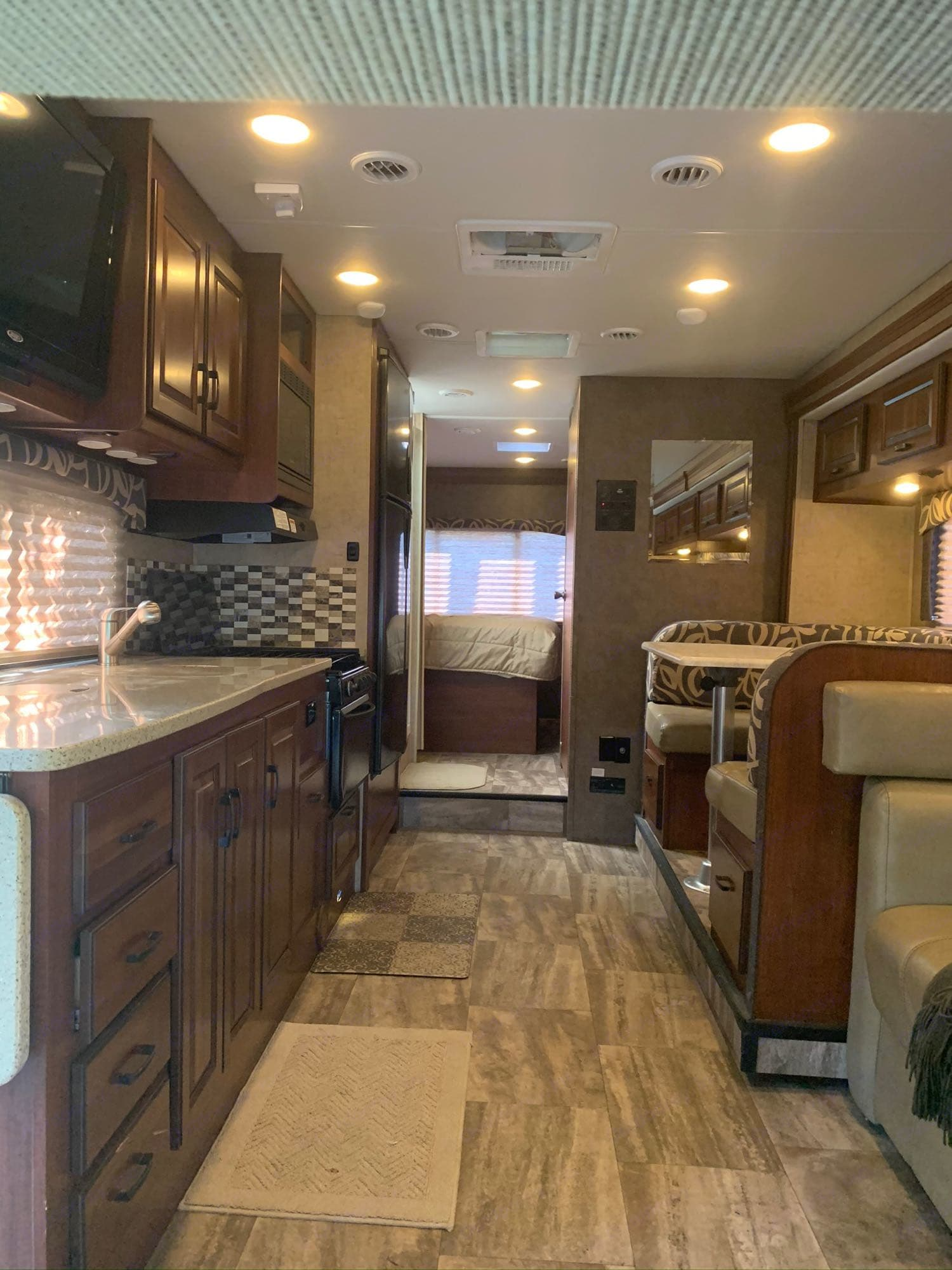 High-end cabinetry and finishes through-out. Forest River 3011DS Forester 2016