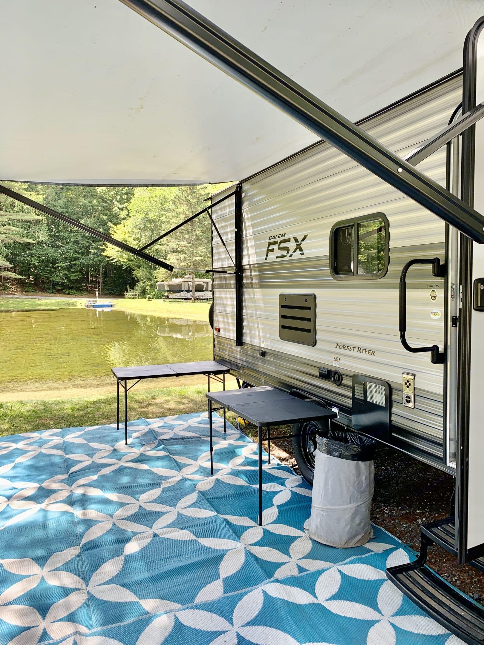 Exterior living space!. Forest River Salem 2020