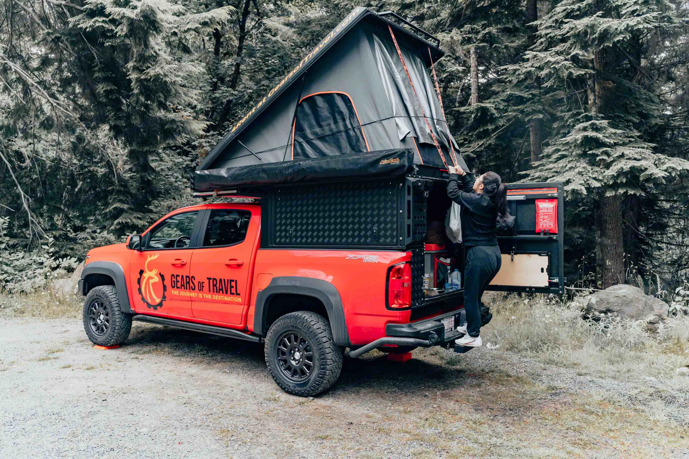 Quick and easy to setup and breakdown. Chevrolet Colorado ZR2 Bison 2019