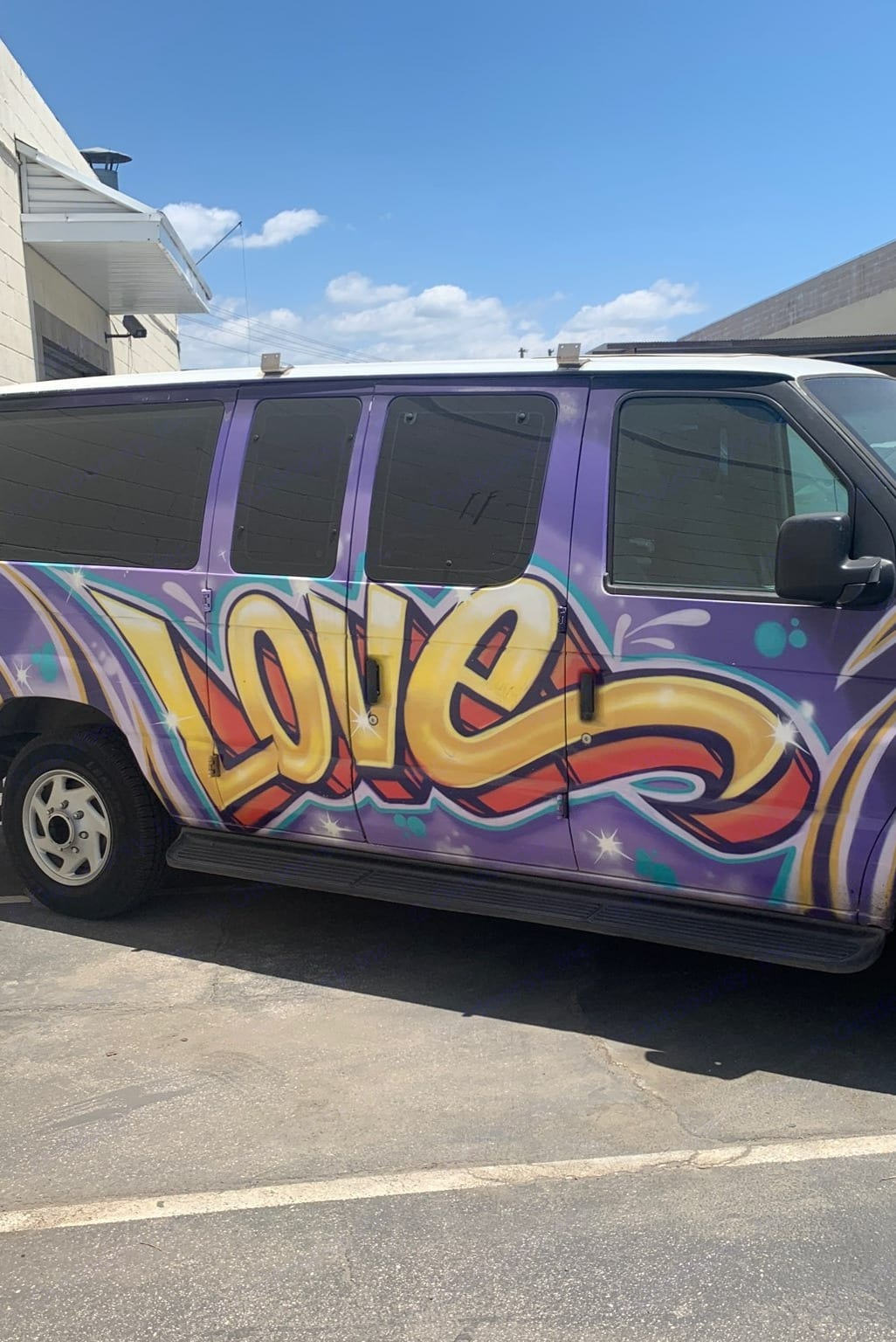 The Love Van - ready for your romantic getaway!. Ford E250 Campervan 2009