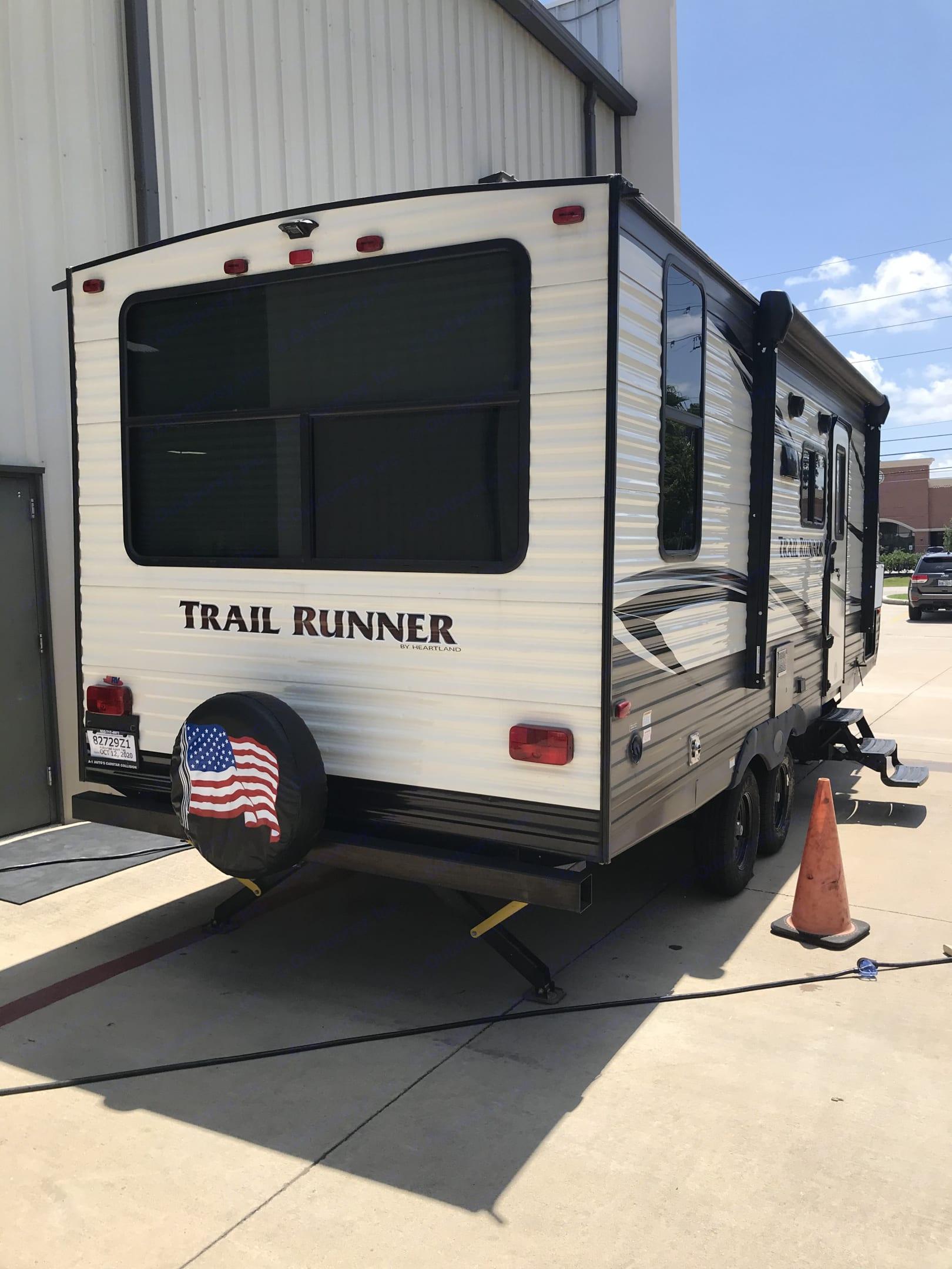 Rt Rear. Heartland Trail Runner 2019
