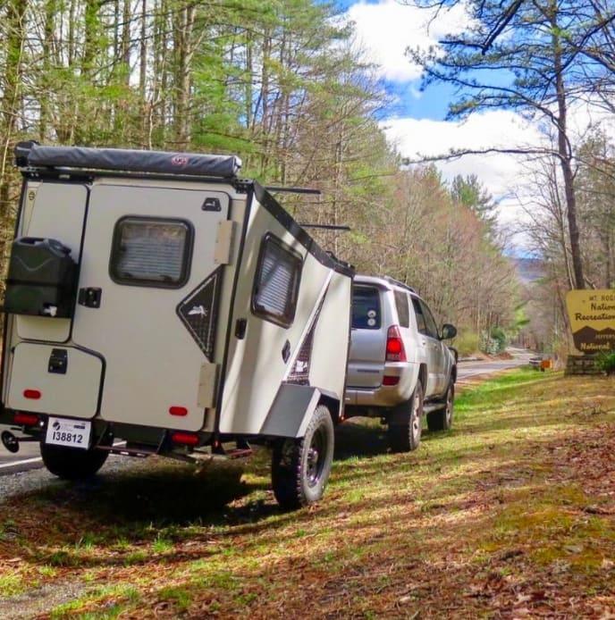 Lightweight and easy set up.. TAXA Outdoors Tigermoth Trek 2017