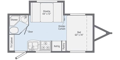"""We increased our bed to a true Queen Size. it's 60"""" x 80"""" and 10"""" thick:). Winnebago Micro Minnie 2019"""