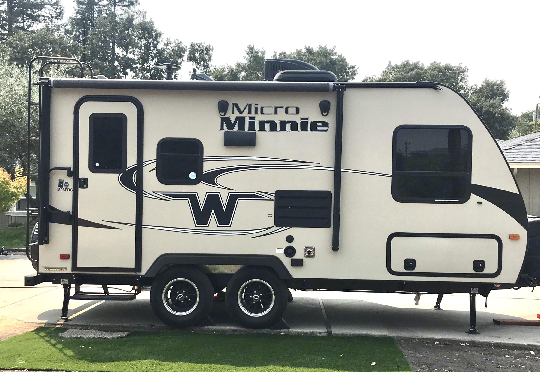 Meet Fraya. She's a 2019 Winnebago Micro Minnie.. Winnebago Micro Minnie 2019