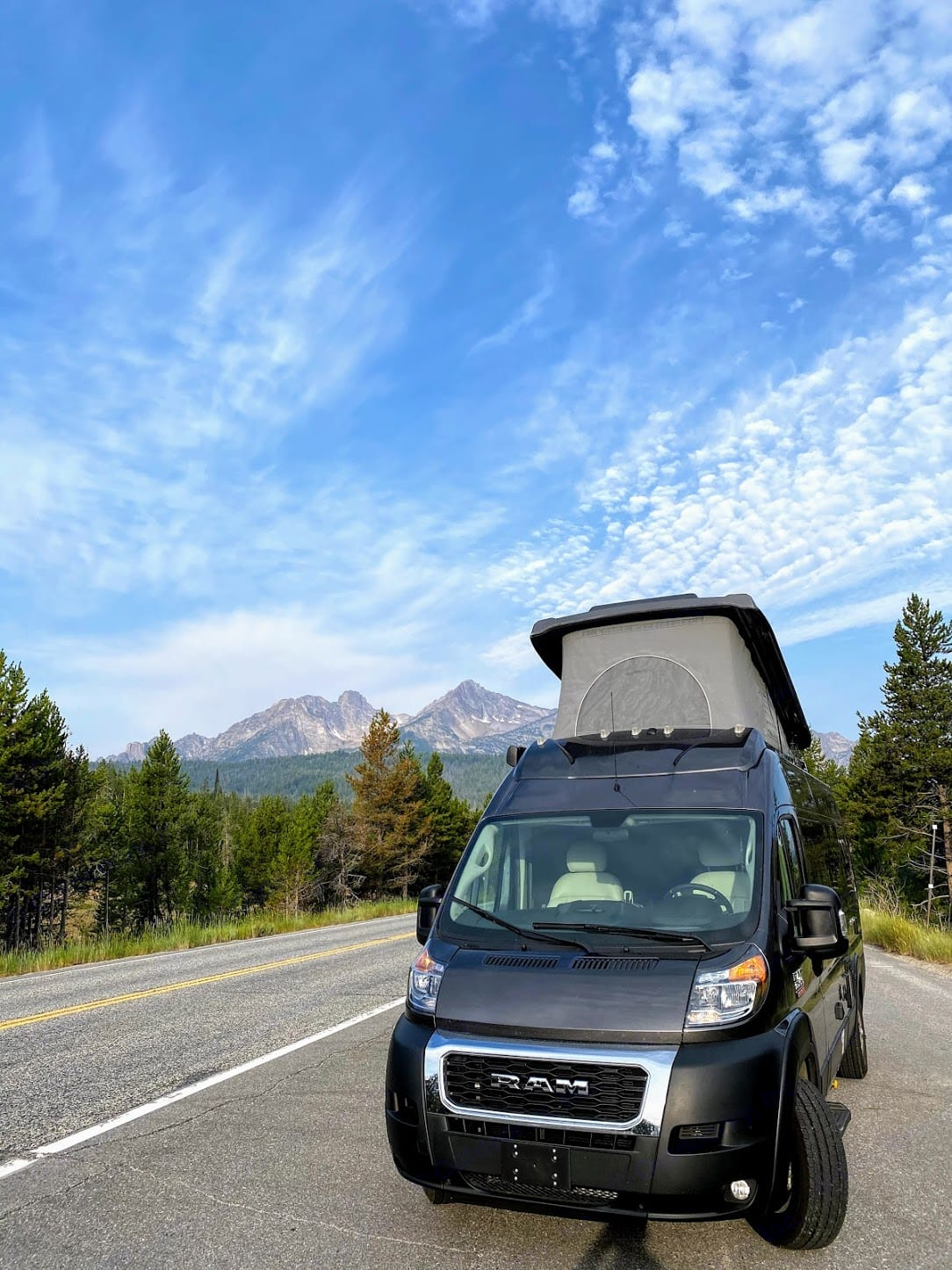 Quick nap by the Sawtooth Mountains.. Thor Motor Coach Other 2020