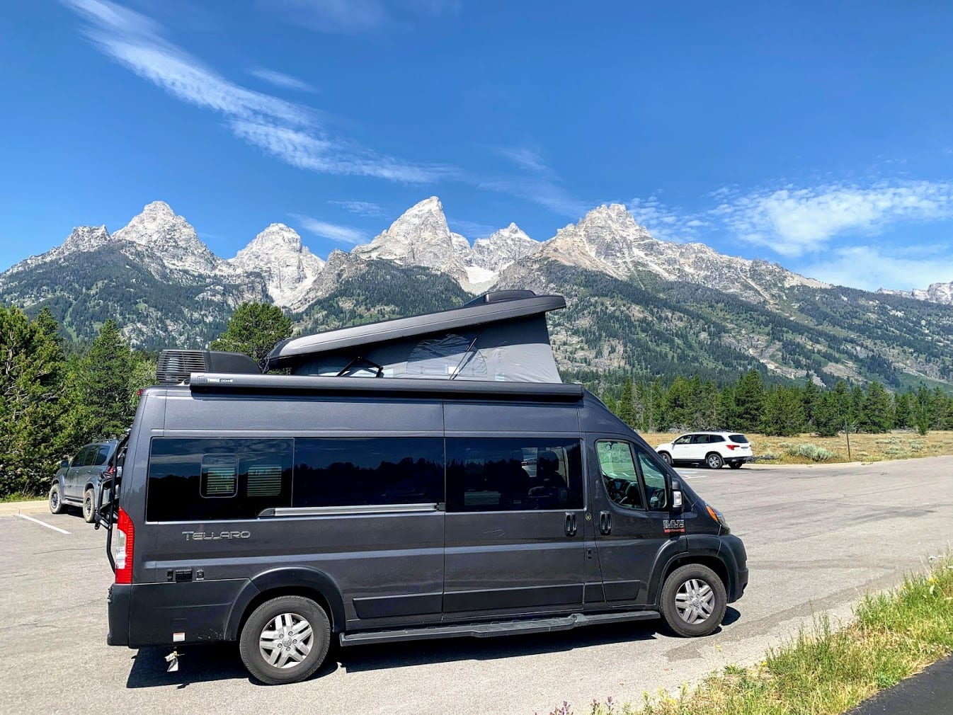 Grand Tetons National Park. What a view to wake up to.. Thor Motor Coach Other 2020