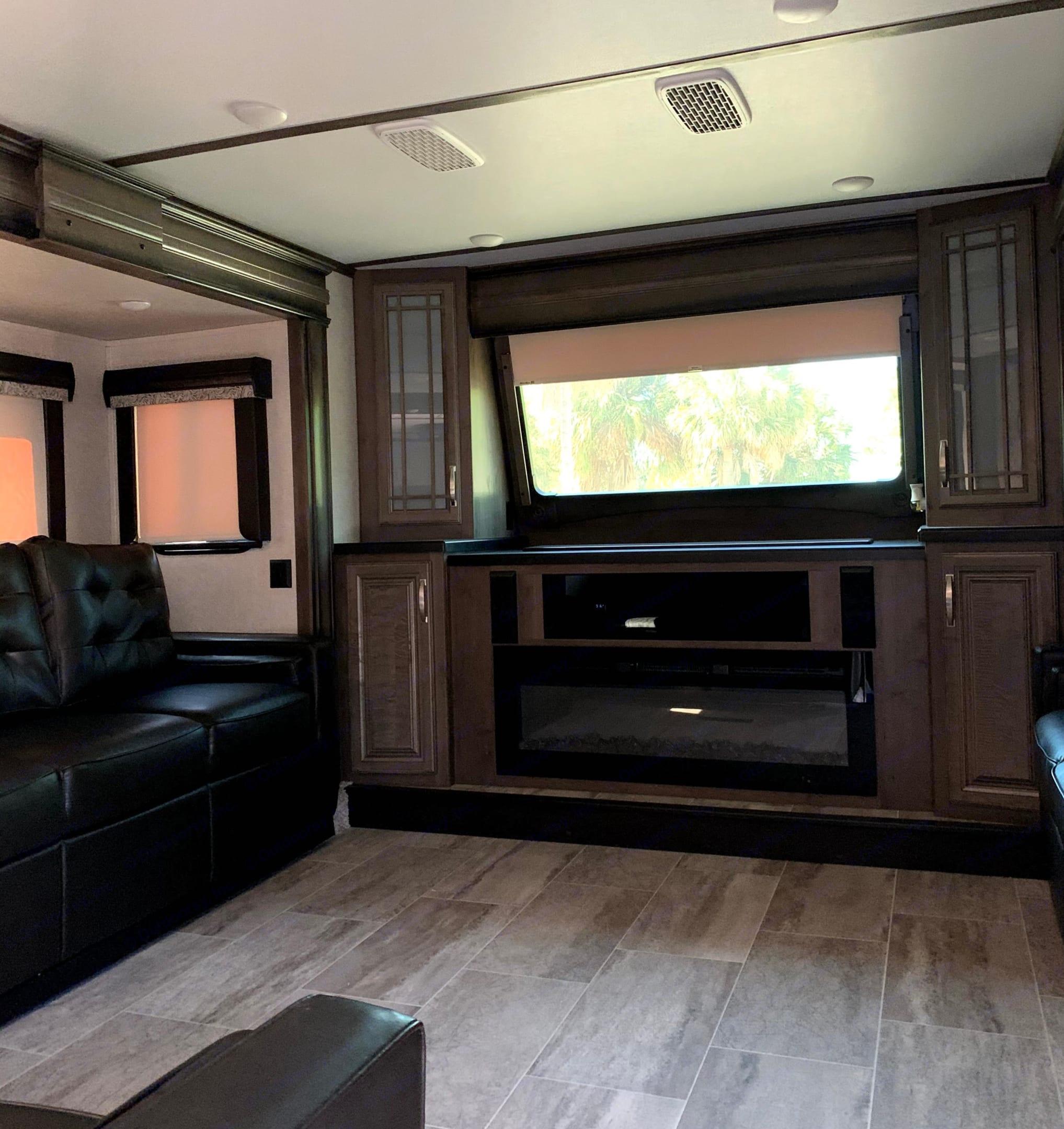 Front upper livingroom. Keystone Montana 2019