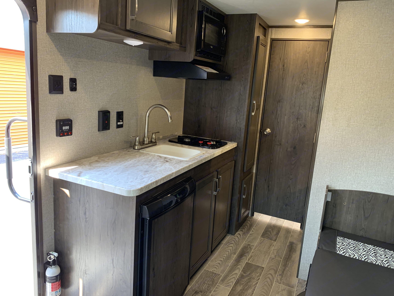 Kitchen. Jayco Flight 2021