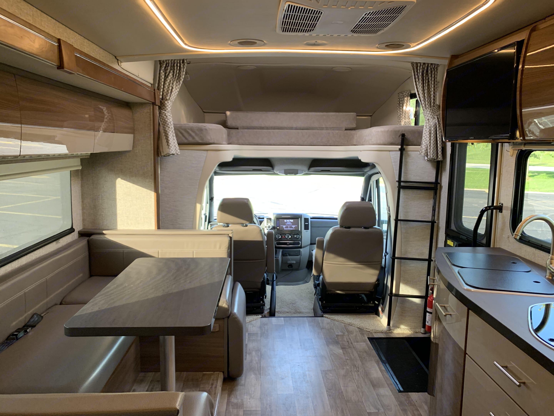 Plenty of room!. Winnebago Trend 24J 2018