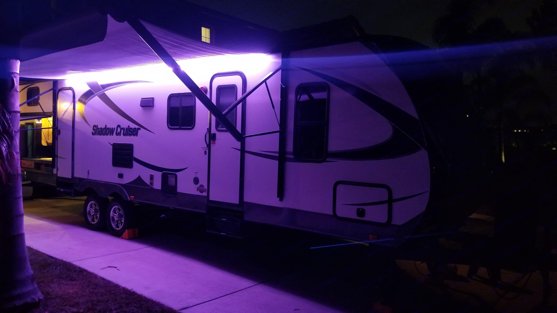 LED Multicolor Awning Light. Cruiser Rv Corp Shadow Cruiser 2015